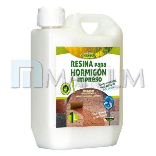 resina para hormigon impreso