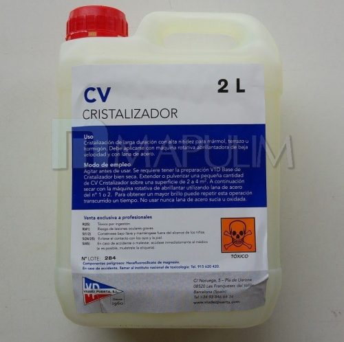 Cristalizador de suelos