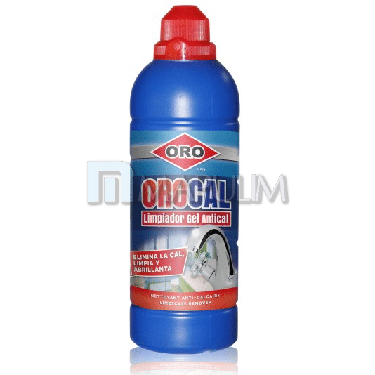 Limpiador gel antical Orocal ORO 750 ml.