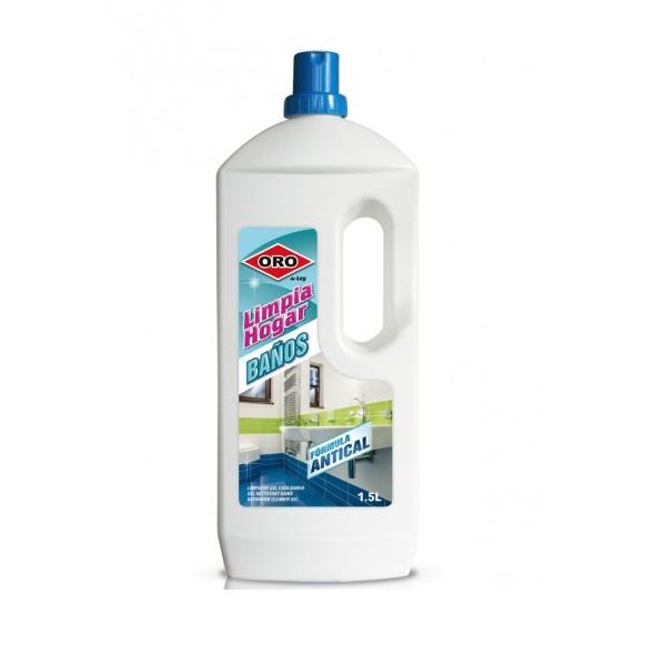 Limpiahogar limpia baños ORO fórmula antical 1,5 lts.