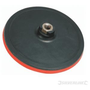 Plato disco soporte velcro 125 mm. x 2 mm. Silverline rosca M-14