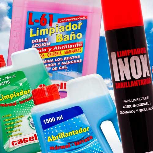 Productos limpieza y mantenimiento