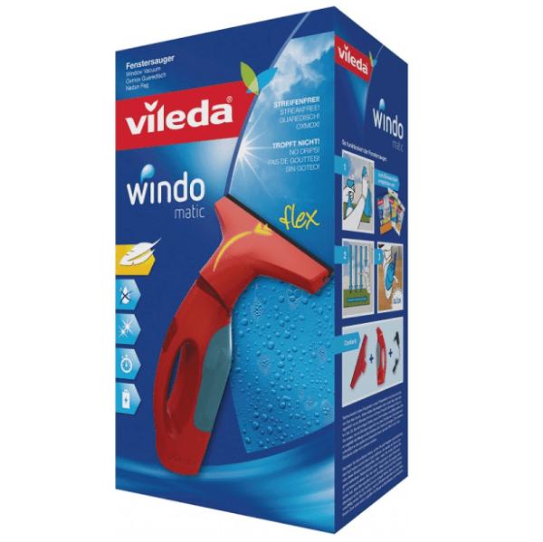 Vileda Windomatic aspirador eléctrico de ventanas y cristales