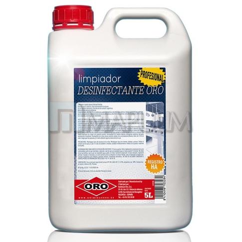 Limpiador desinfectante H.A. ORO 5 litros