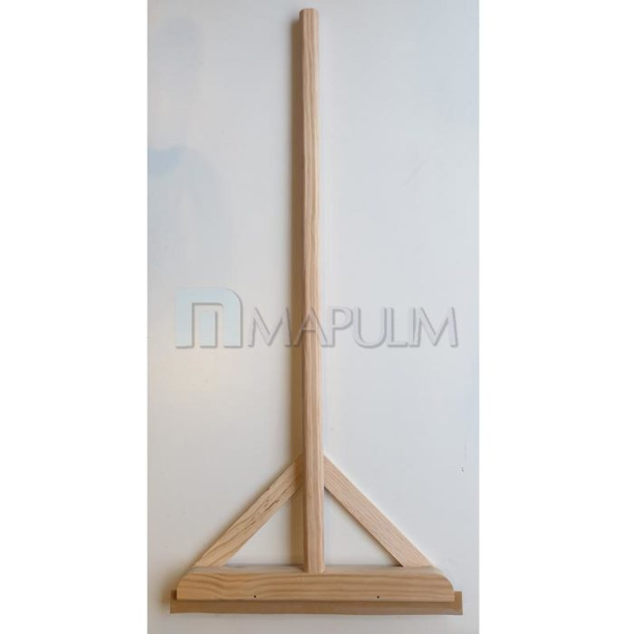 Rastrillo de madera para pulido de suelos