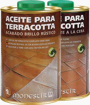 Aceite para terracota Monestir